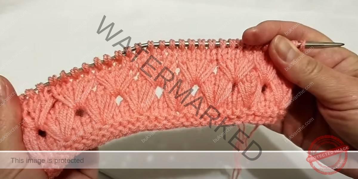 Красива и нежна плетка - следвайте подробните инструкции!