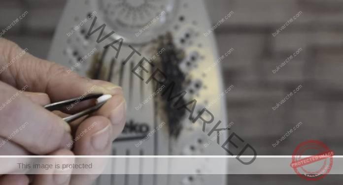 Как да почистите ютията от изгаряния? Лесен трик