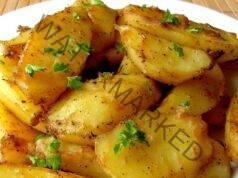 Картофи в соев сос - отлична гарнитура за пилешко