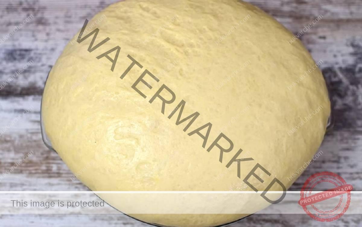 Рецепта за пухкаво тесто с мая - въздушни и меки печива