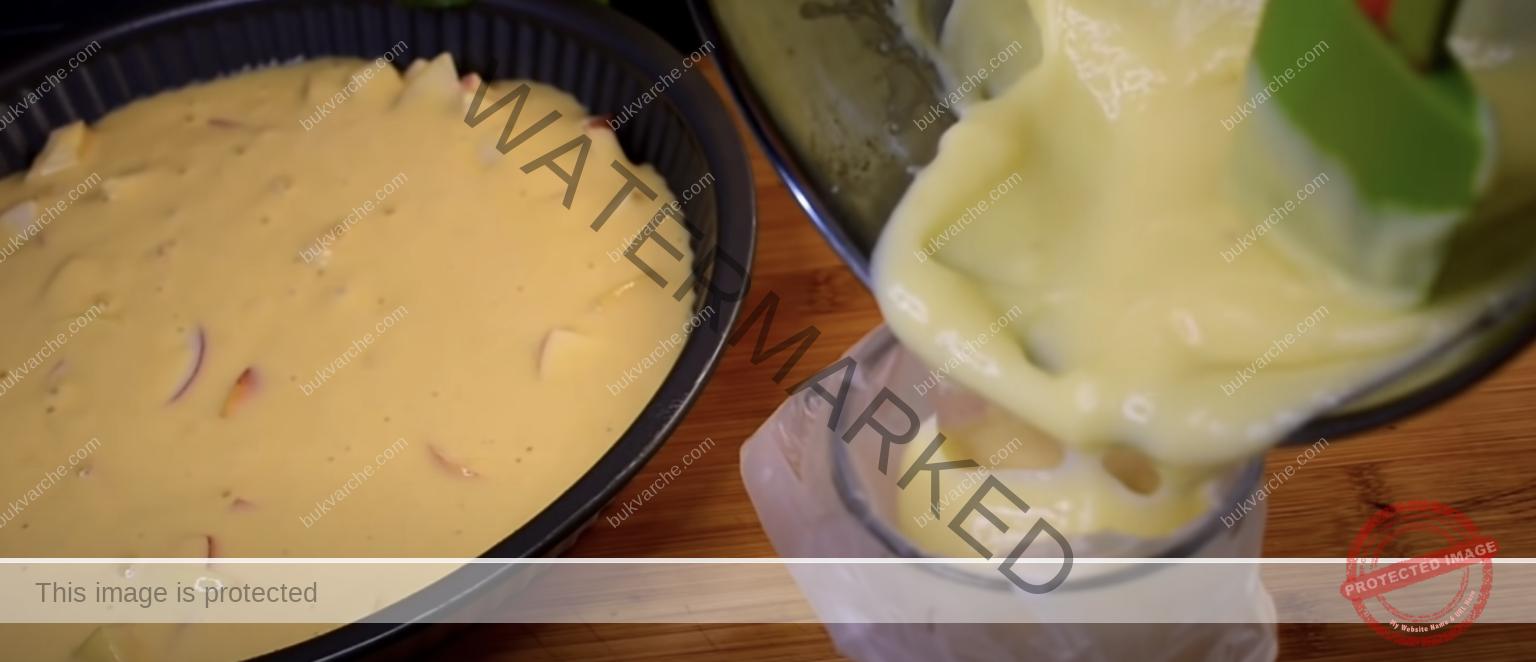 Ябълков сладкиш с пълнеж - ароматът се разнася из цялата кухня