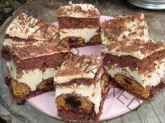 Джинджифилова торта с пудинг и еспресо. Вкусно и лесно