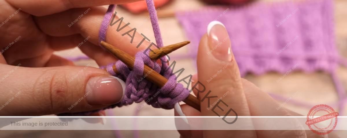 """Модел плетка """"twist"""" за жилетки, пуловери и шапки"""