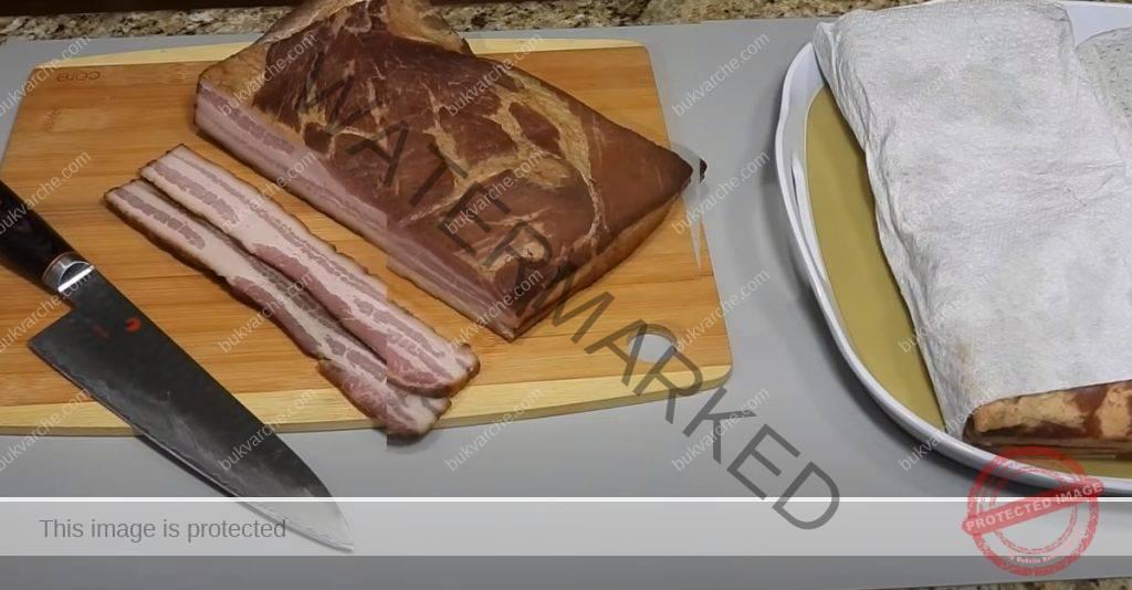 Домашен бекон - по-добър и вкусен от този в магазина