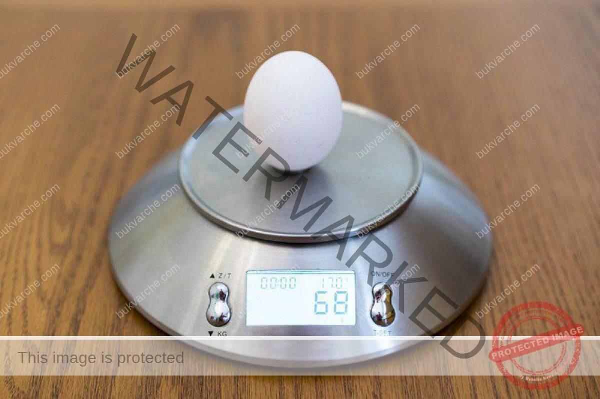 Точно измерване на съставките при печенето на сладкиши