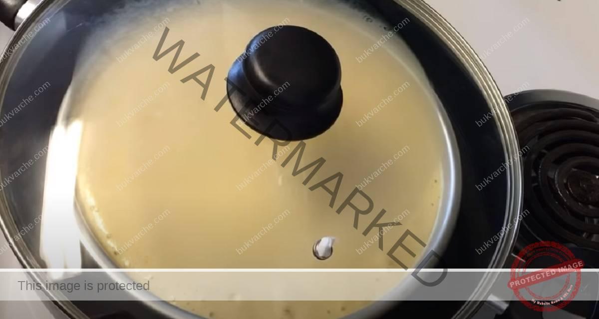 Рецепта за пандишпанов блат, който се приготвя на тиган