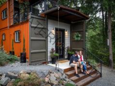 Евтин дом от контейнери за живот сред природата
