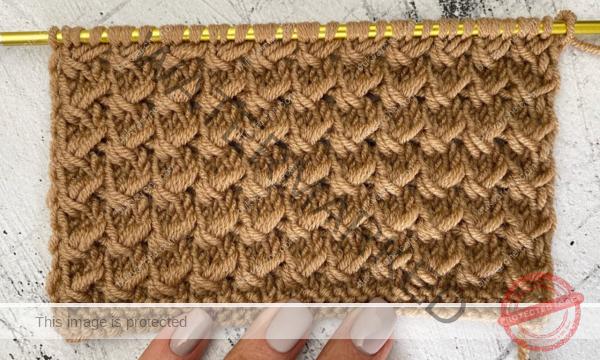 Нежен модел плетка за любителите на плетенето