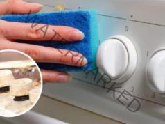 Трик за лесно почистване на копчетата на печката