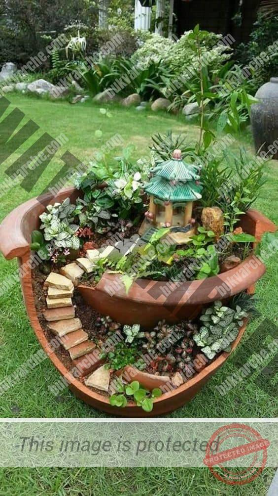 Креативни идеи със саксии за градината или терасата