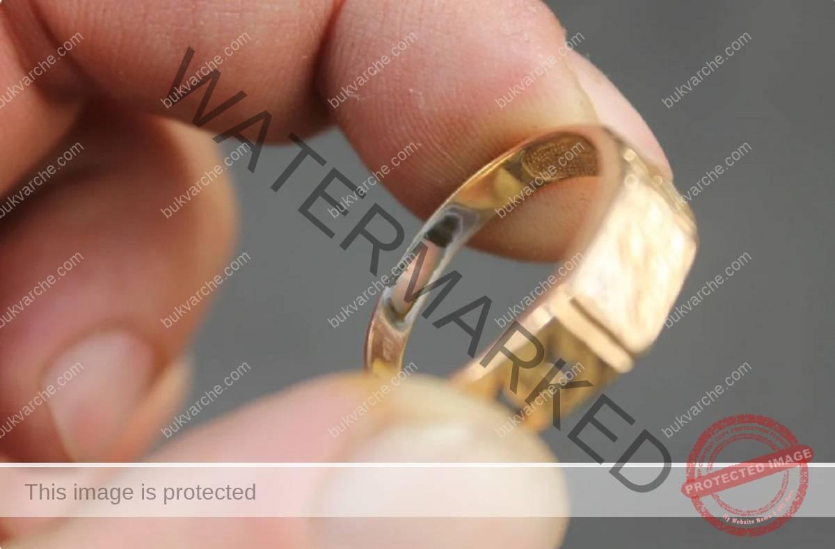 Как се проверява златото дали е истинско в домашни условия?