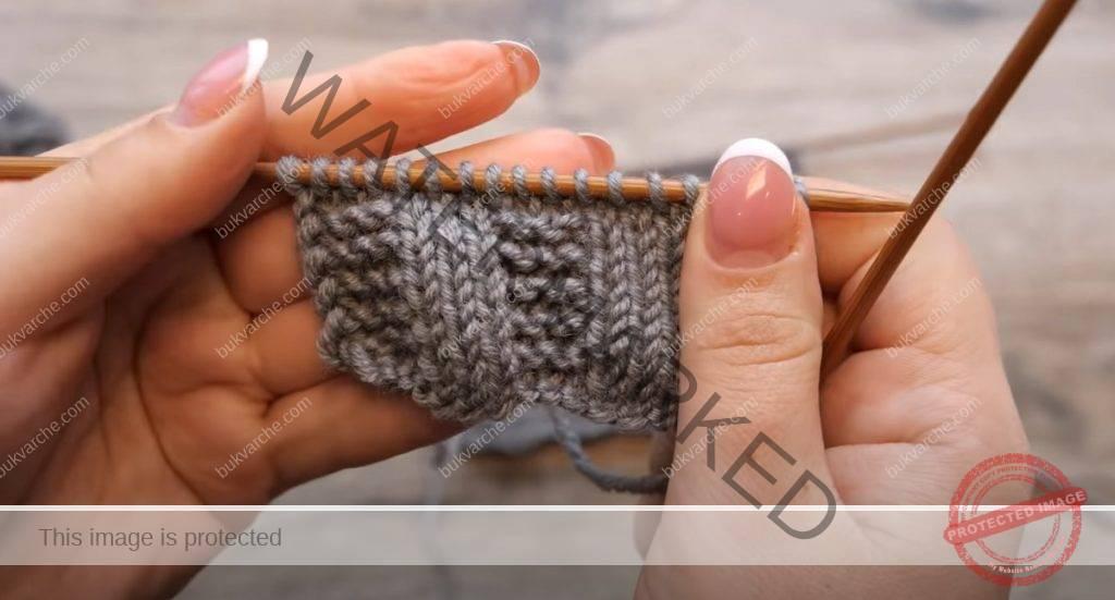 Лесен модел за шапки, пуловери, шалове и жилетки
