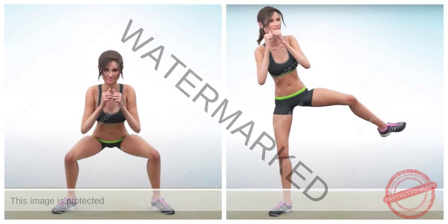 Упражнения за вътрешно бедро, които изгарят мазнините