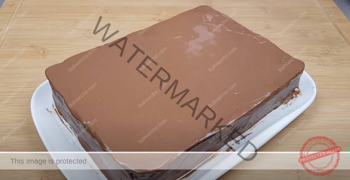 Торта с домашни блатове и сочен шоколадов крем