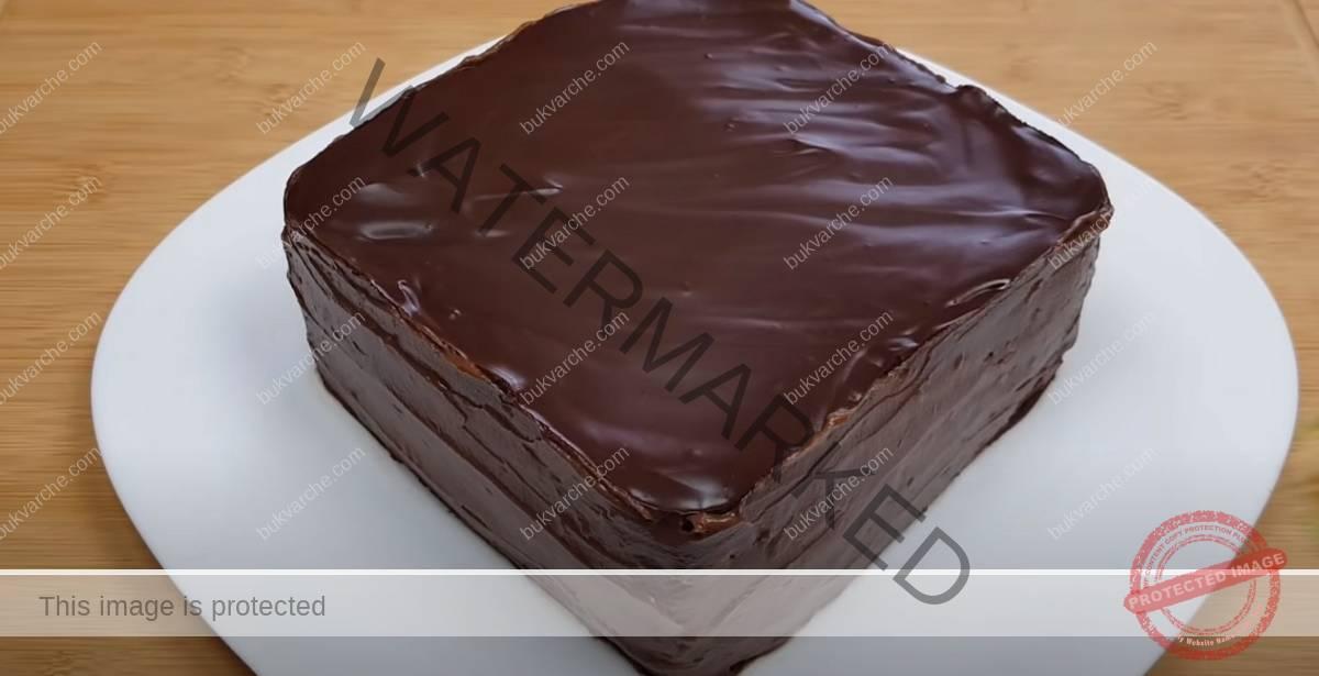 Торта с фъстъци и бисквити. Подходяща за всеки повод