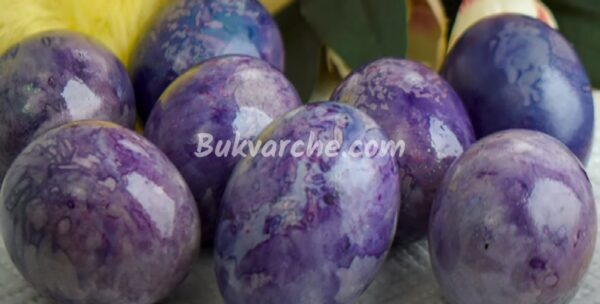 Великолепни великденски яйца с естествени оцветители