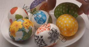 Декорация на великденски яйца без бои - лесно и забавно