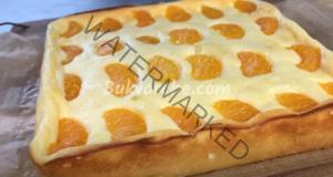 Домашен чийзкейк с мандарини - бърз и вкусен десерт