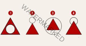 Забавен психологически тест с триъгълници разкрива какви сте