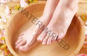 Йонна вана за крака за елиминиране на токсините от тялото