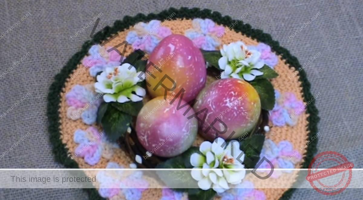 Как да си направите мраморни великденски яйца