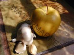 Лек с ябълка и чесън, който се бори с всички вируси
