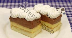 Фина домашна торта с два вида крем - лесна рецепта