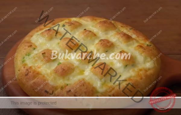 Чесново хлебче с моцарела – ще се влюбите от първата хапка