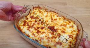 Ястие от картофи, кайма и майонеза - отличен обяд