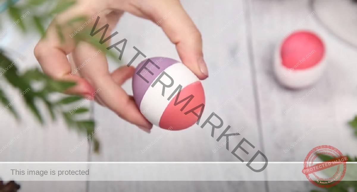Идеи за великденски яйца с хранителна боя - 3 варианта