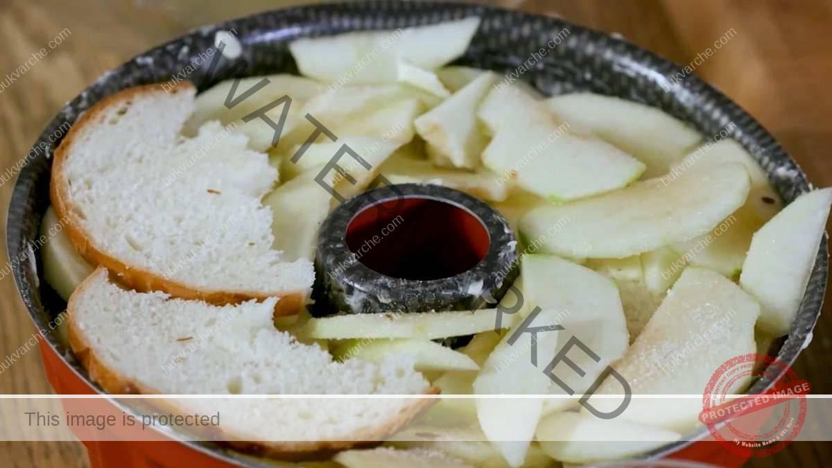 Тимбал с ябълки - вкусен сладкиш с нежен крем