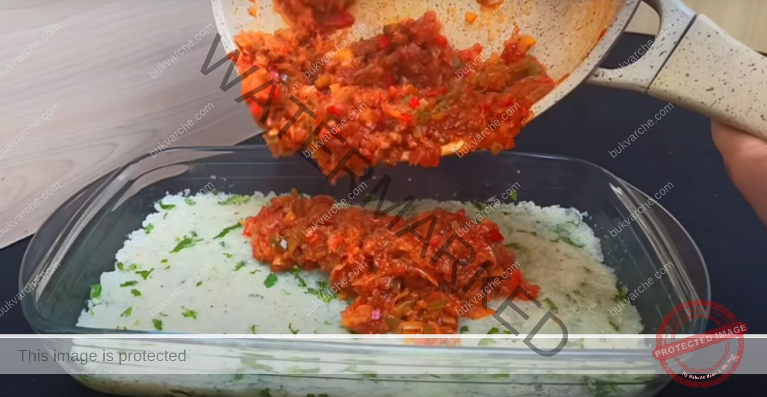Карфиол с моцарела на фурна - вкусно и здравословно