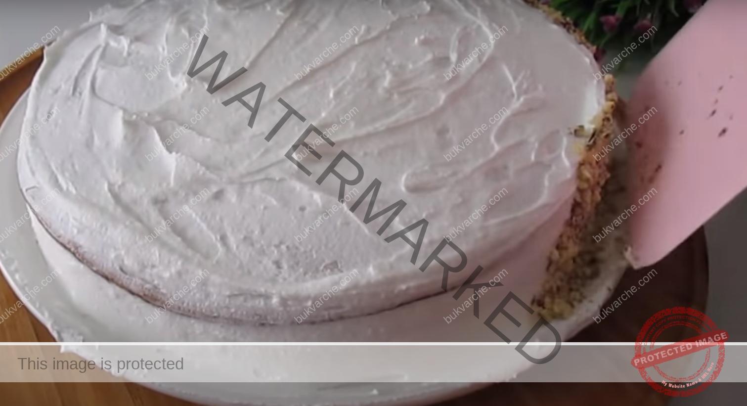 Бананов десерт с крем - бърза рецепта с отличен резултат