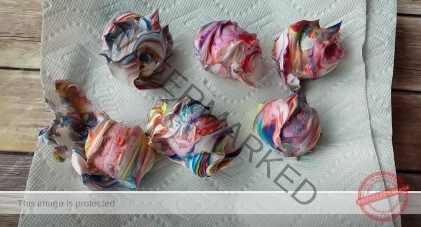 Галактически великденски яйца най-лесния начин за боядисване