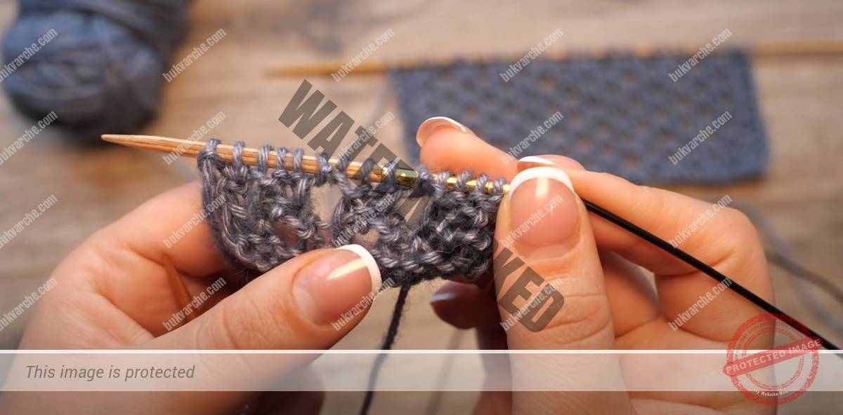 """Модел плетка """"мрежа"""": подходящ за летни и пролетни дрехи"""