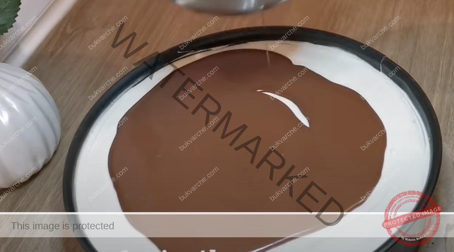 Сочна торта с маскарпоне и шоколадова глазура