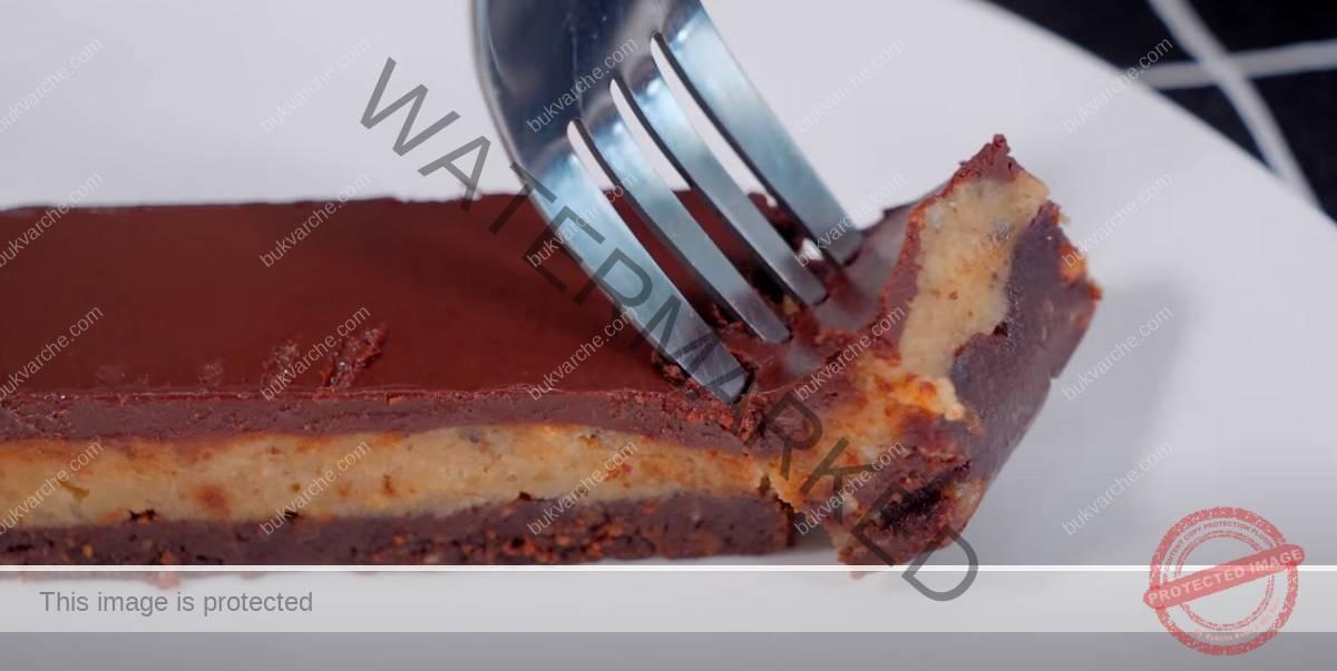 Какаов десерт с ядки, без печене. Приготвя се лесно и бързо