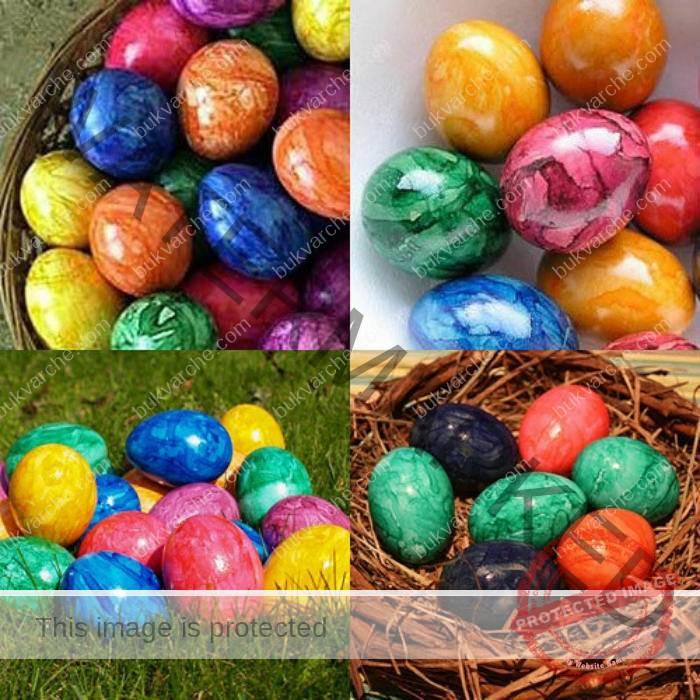Боядисването на яйцата по този начин е истинско удоволствие