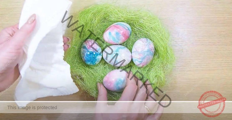 Боядисване на яйца на пара - един нов и оригинален начин