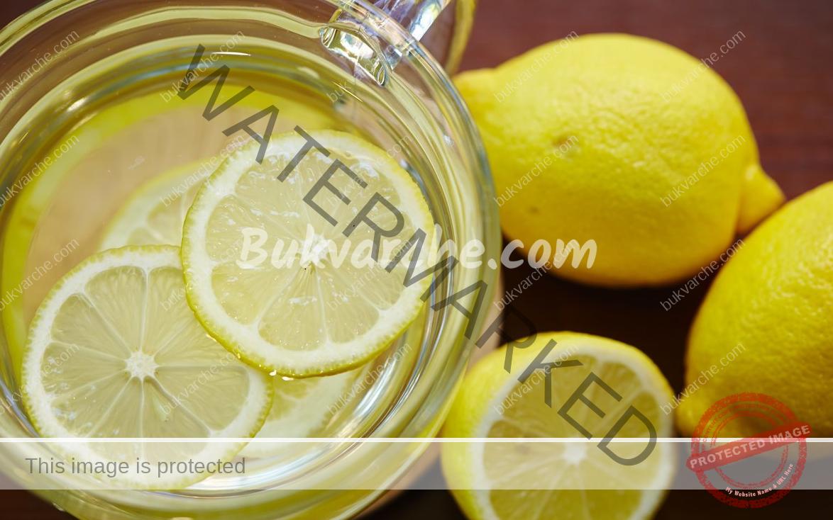 Вода с лимон - напитка за детоксикация и красива кожа