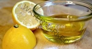 Домашно средство срещу прах само с лимон и олио
