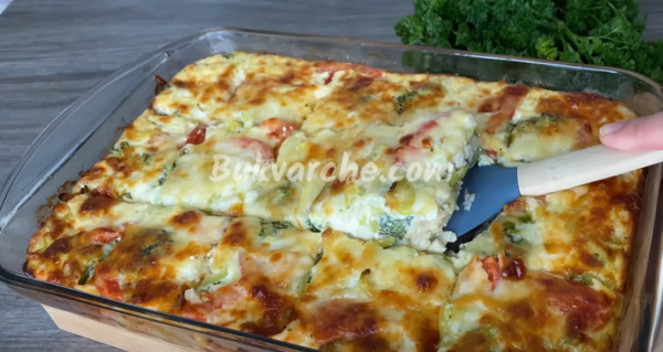 Запеканка с броколи и карфиол – здравословна вечеря