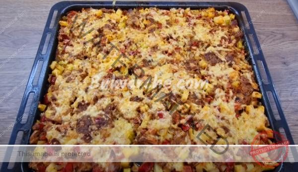 Кайма със зеленчуци на фурна – бърза и лесна вечеря (1)