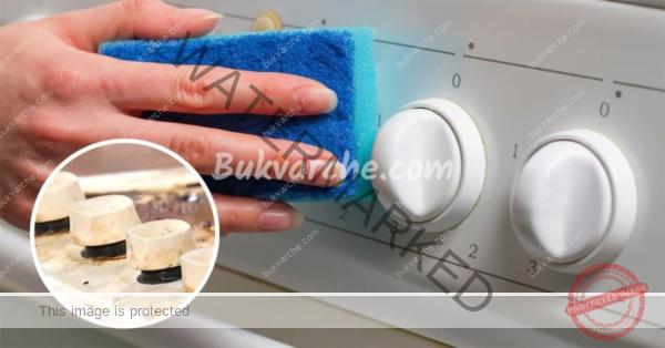 Как да почистите фурната лесно с домашни средства