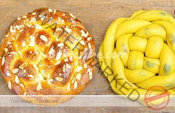 Козунак от бутер тесто за Великден – мек и на конци