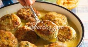 Кюфтета от пилешко месо и тиквички - сочни и ароматни