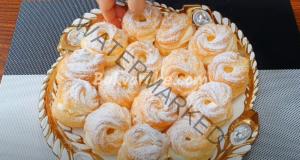 Мини сладкиши с крем - най-лесната и вкусна рецепта
