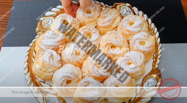 Мини сладкиши с крем – най-лесната и вкусна рецепта
