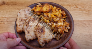 Печени картофи с бекон и вкусна гарнитура - лесна рецепта