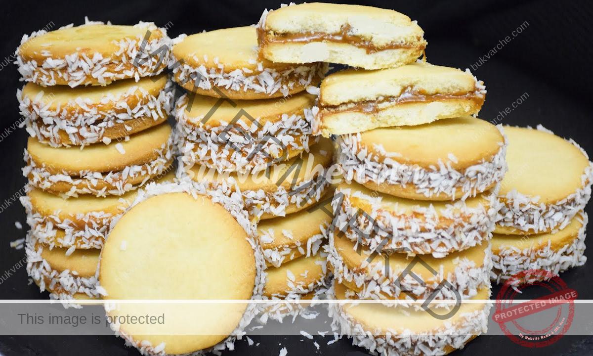 Слепени бисквити с невероятен вкус и аромат на ванилия